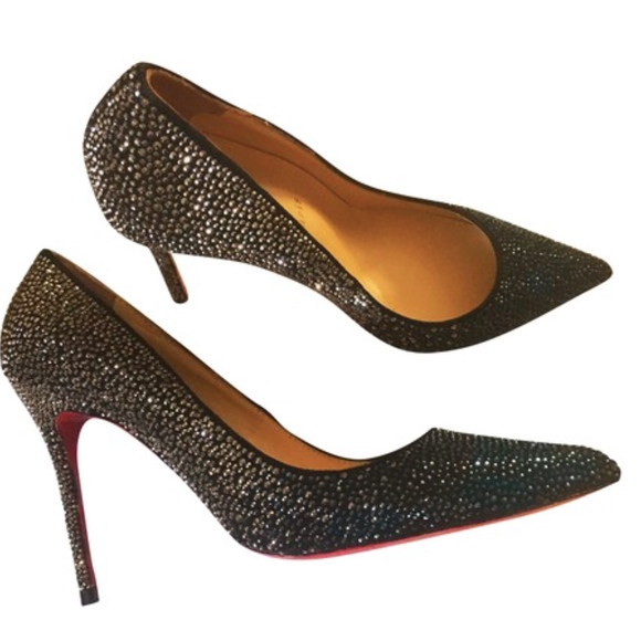 Christian Louboutin Multicolor Decollete Strass Boutique